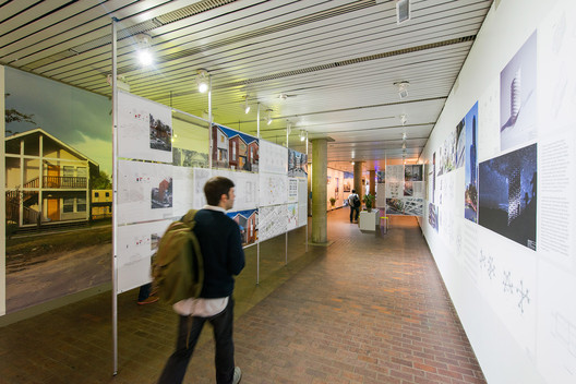 Exhibit at Harvard GSD © Justin Knight. Image via Harvard GSD