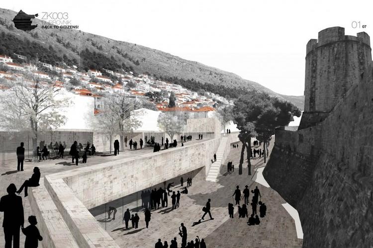 Ganador Emplazmiento Croacia / Dubrovnik