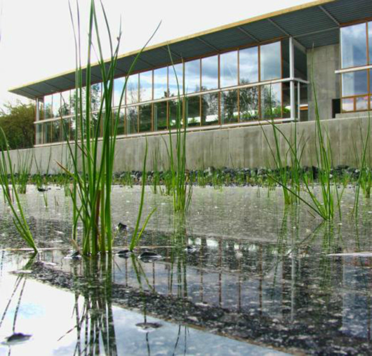 Omega Center - Courtesy of The Buckminster Fuller Institute