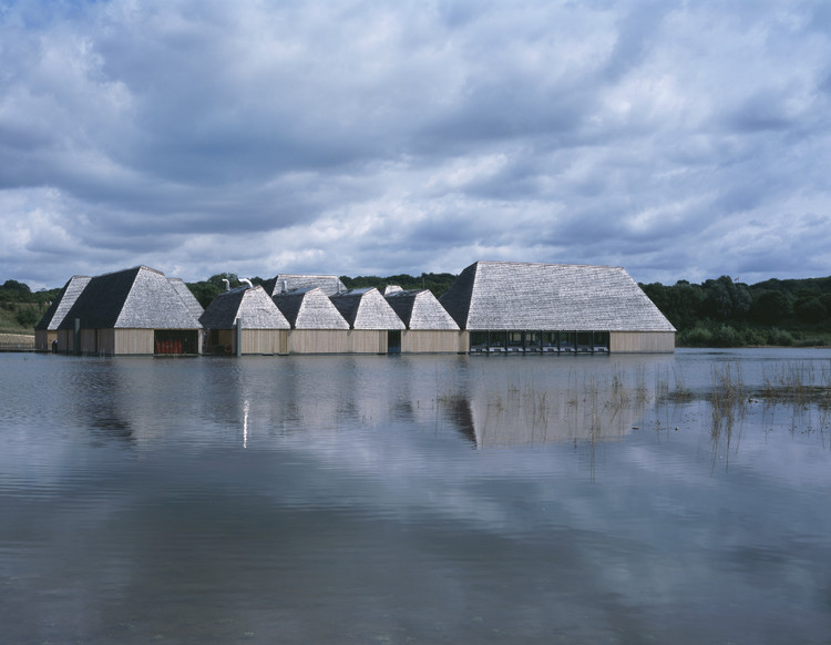 Brockholes Visitor Centre, Lancashire by Adam Khan Architects © Ioana Marinescu