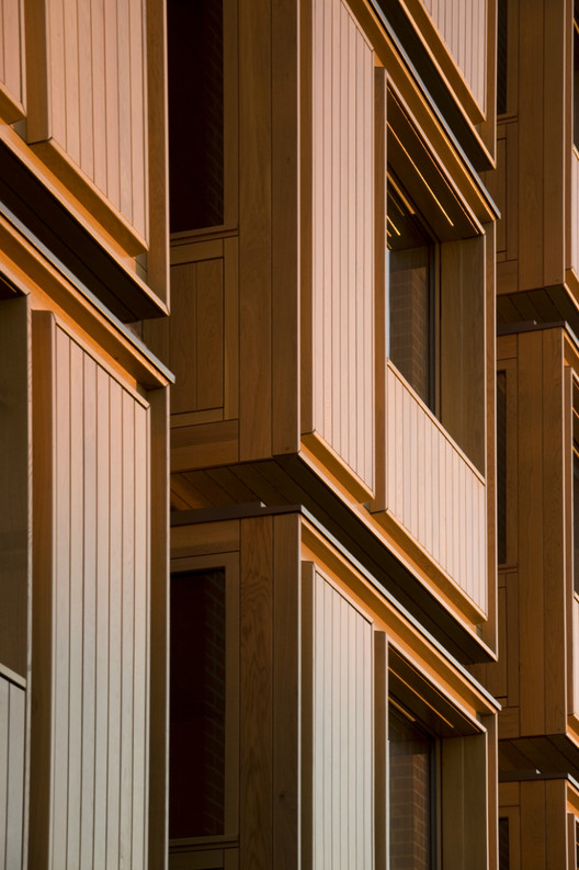 Student Accommodation, Somerville College, Oxford by Niall McLaughlin Architects