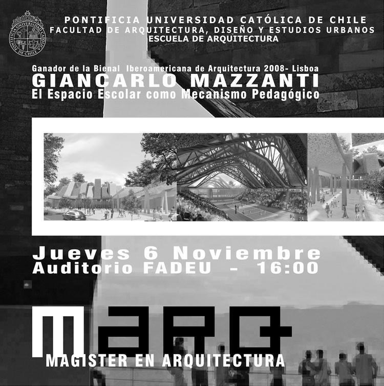 Conferencia Giancarlo Mazzanti