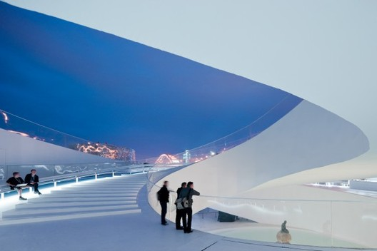 Bjarke Ingels/BIG. Danish Pavilion, project. 2010 Shanghai Expo. © Iwan Baan