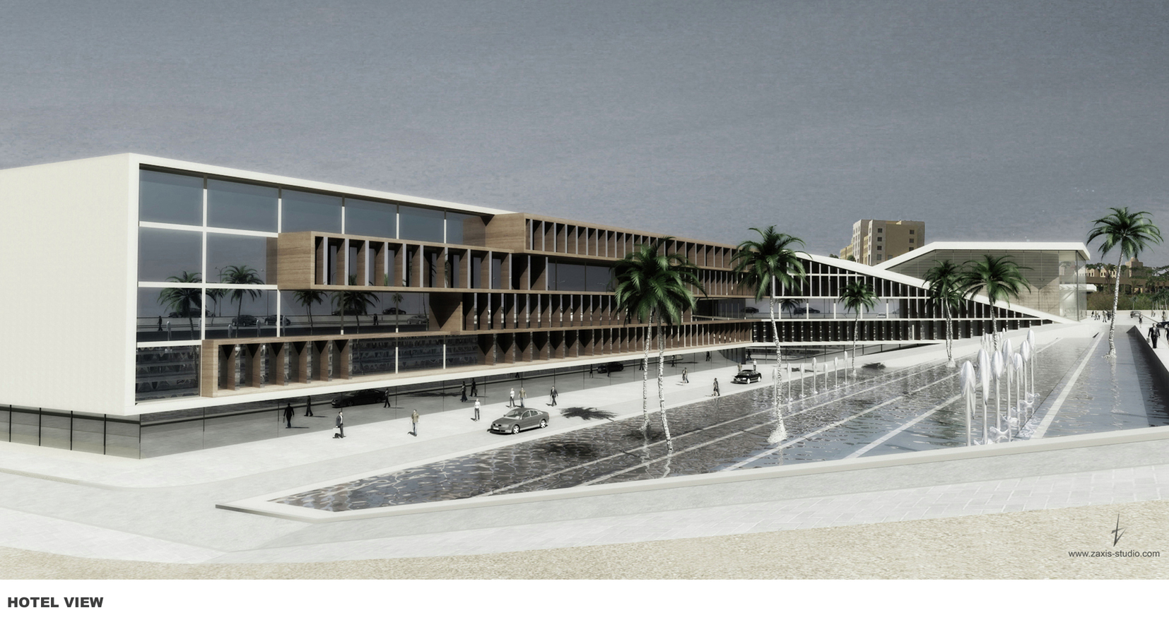 Gallery of dead sea resort opera house accent design for Design hotel f 6 genf