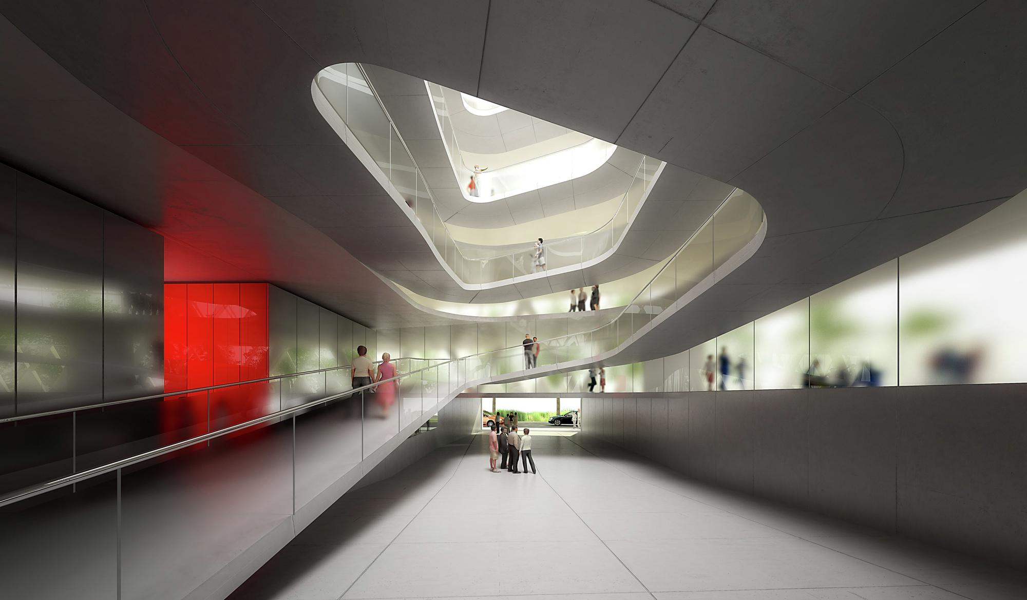 Gallery of office building in vevey atelier z ndel for Atelier cuisine vevey