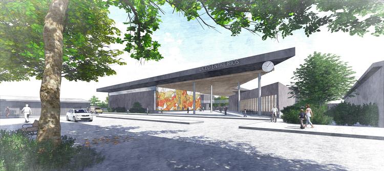 T8 Arquitectos + Patricio Durán, primer lugar en concurso del nuevo liceo Entre Ríos / Chile, Cortesía de T8 Arquitectos + Patricio Durán