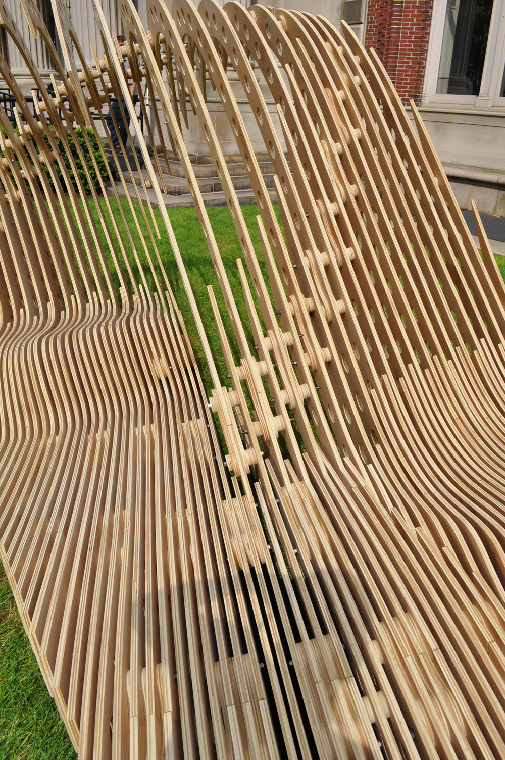 Gallery of Visual Permeability Pavilion / Columbia ...