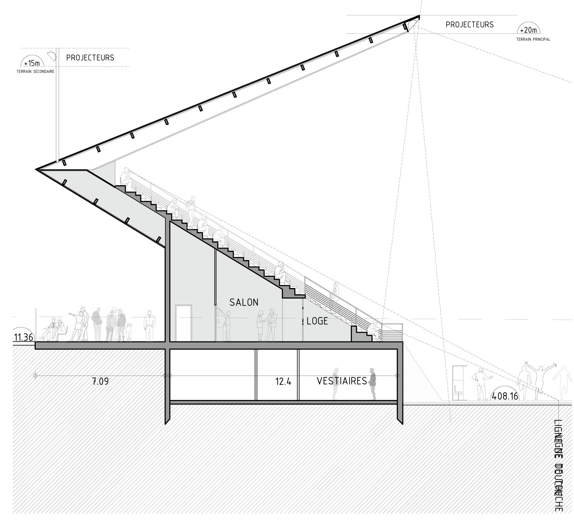 Gallery Of Football Stadium DATA Architects 3