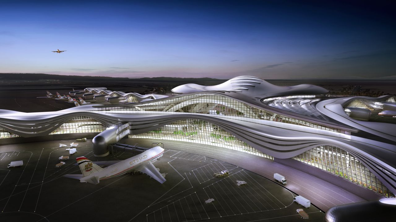 Abu dhabi international airport kpf archdaily for Hispano international decor abu dhabi