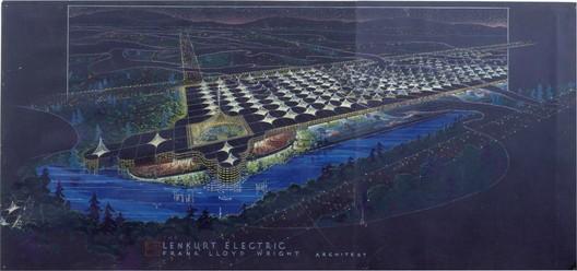 Frank Lloyd Wright. Lenkurt Electric Company, San Carlos, CA, 1955 © 2010 Frank Lloyd Wright Foundation, Scottsdale, Arizona