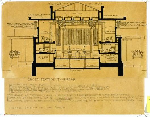 Frank Lloyd Wright, Unity Temple, Oak Park, Illinois, 1905-08 © 2010 Frank Lloyd Wright Foundation, Scottsdale, Arizona