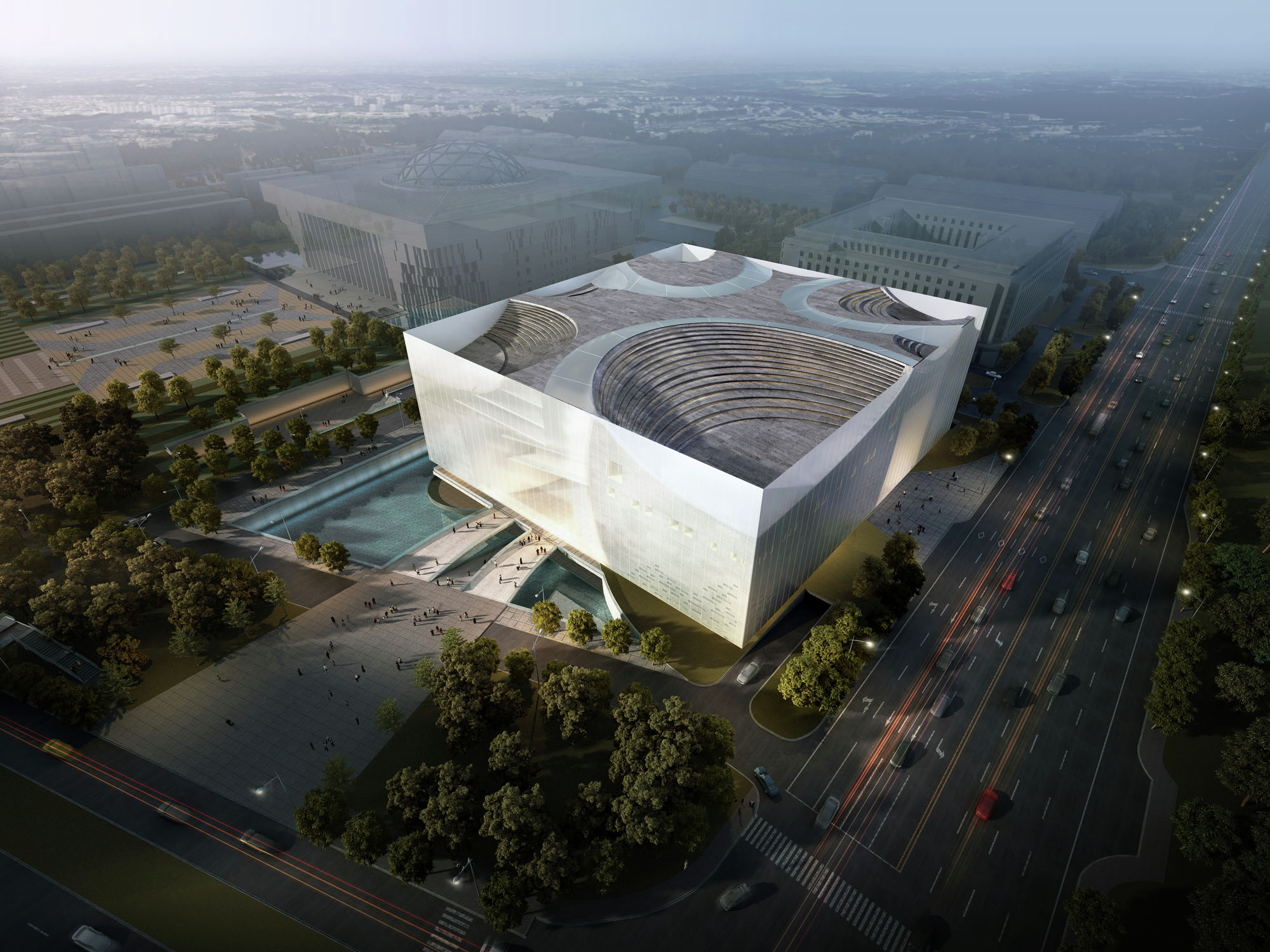 gallery of jinan contemporary museum united design 23