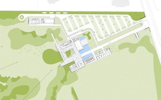 Ground Plan © RUA Arquitetos
