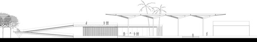 Elevation © RUA Arquitetos