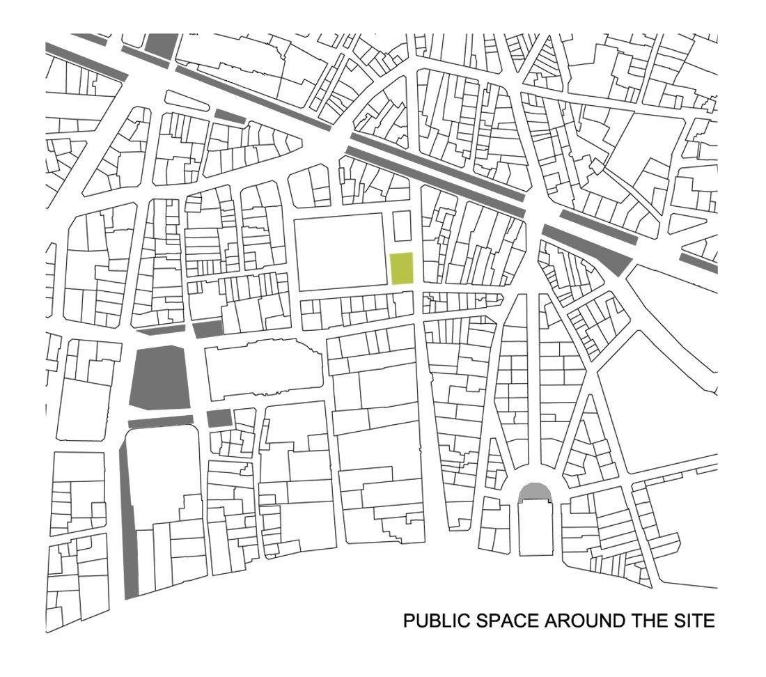 Master Plan Drawings: Gallery Of Paris Market Lab / Ayrat Khusnutdinov And