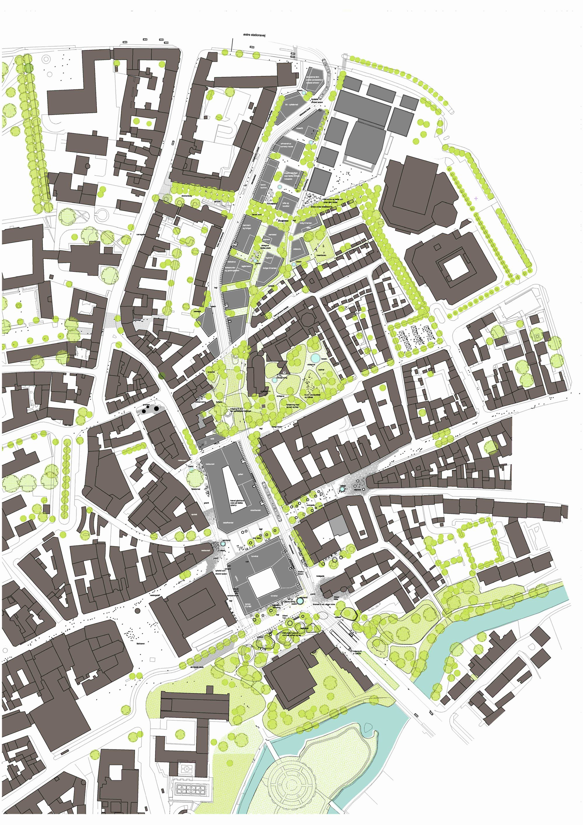 Circulation Patterns Architecture Gallery Of Thomas B Thrigesgade City Design Entasis 8