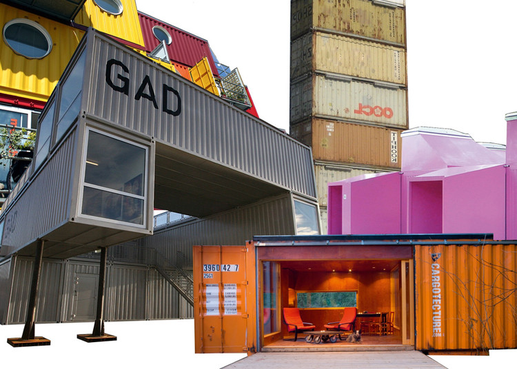 container architecture exhibition | archdaily