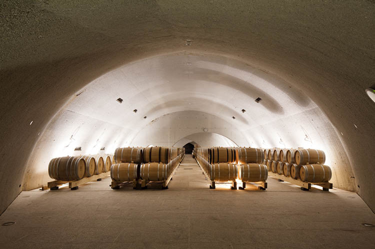 Quinta do vallado winery menos mais arquitectos - Quinta do vallado ...