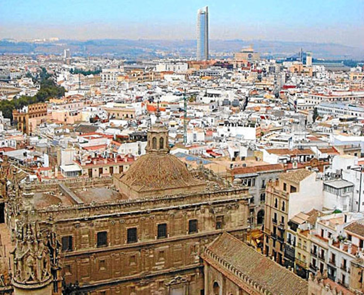 Imagen impacto visual de la Torre Pelli. elmundo.es