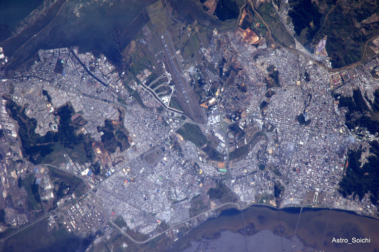 Concepción desde la Estación Espacial