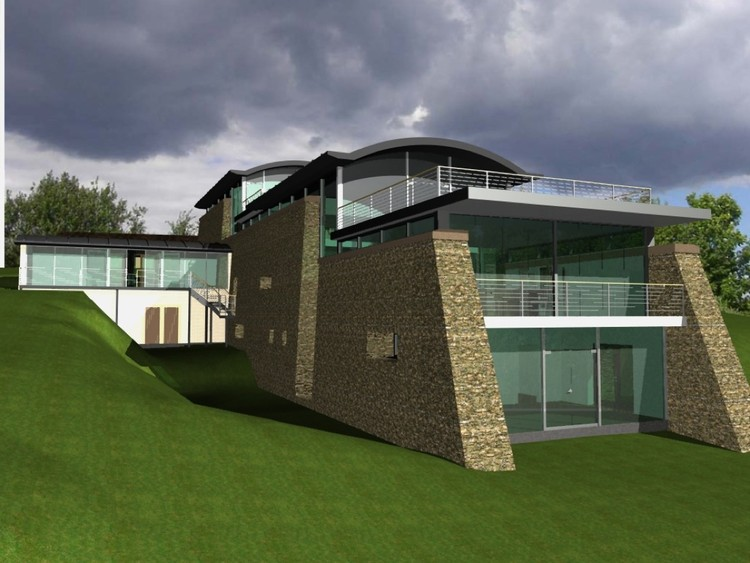 Moonstone Project, designed using ArchiCAD