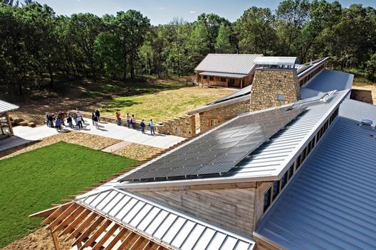 LEED Platinum: Aldo Leopold Legacy Center/ Baraboo, Wisconsin /The Kubala Washatko Architects, Inc. (image courtesyMark F. Heffron / The Kubala Washatko Architects, Inc.)