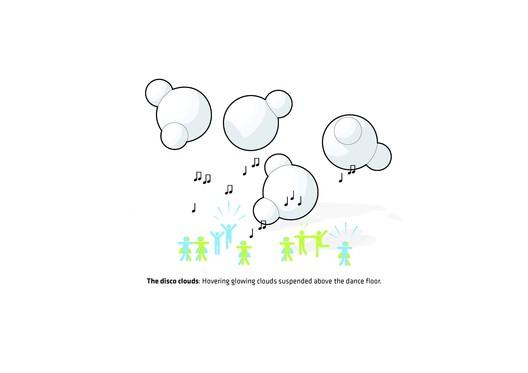 The disco cloud © BIG