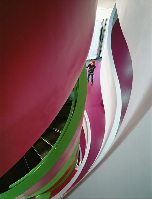 IMKZ Library,  Cottbus, Hermany / Herzog & de Meuron © Duccio Malagamba