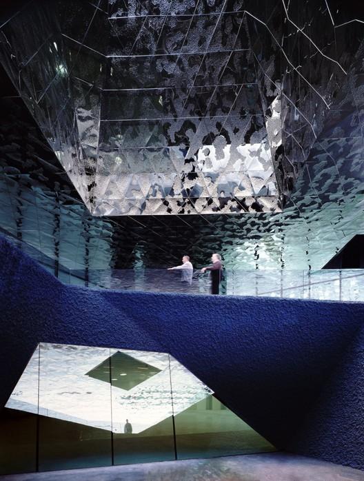 Forum Building / Herzog & de Meuron © Duccio Malagamba