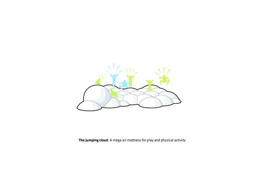 The jumping cloud © BIG