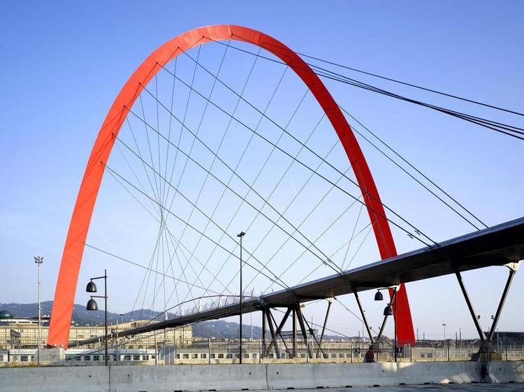 Turin footbridge hda paris archdaily for Hda design