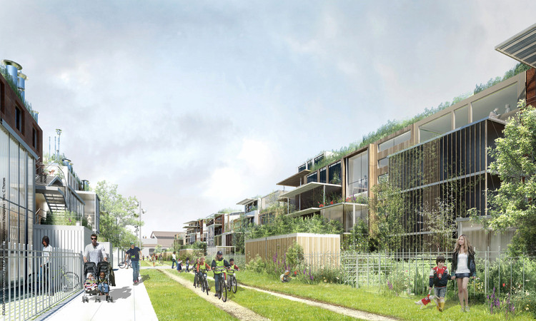 Ecodistrict in dijon exp architects archdaily for Dijon architecture