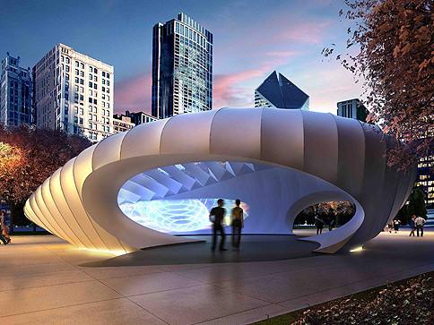 Zaha Hadid's Pavilion