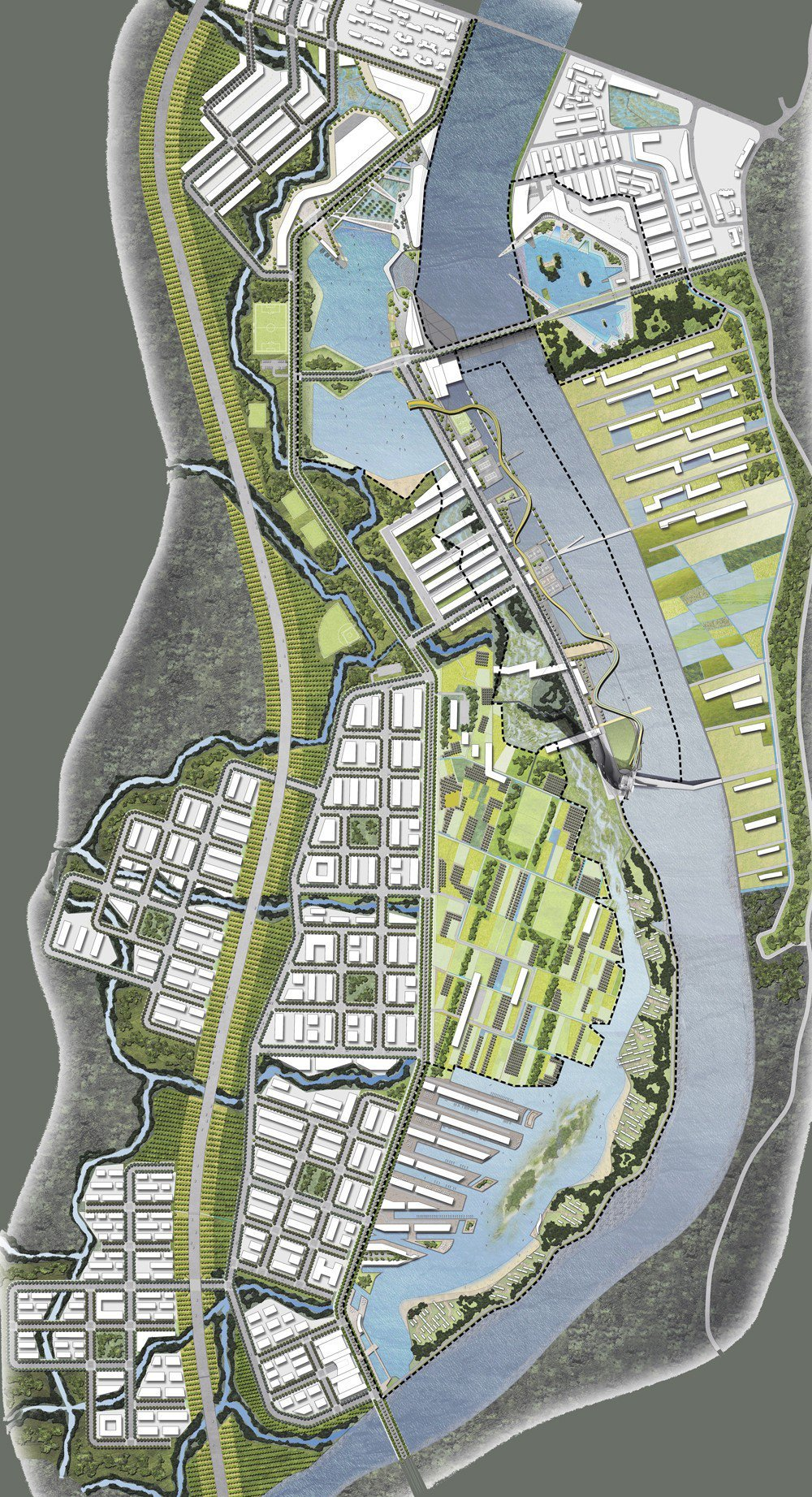 Gallery of miyi tower and master plan studio shift and for What is landscape planning