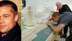 So, Brad Pitt wants to be an architect?