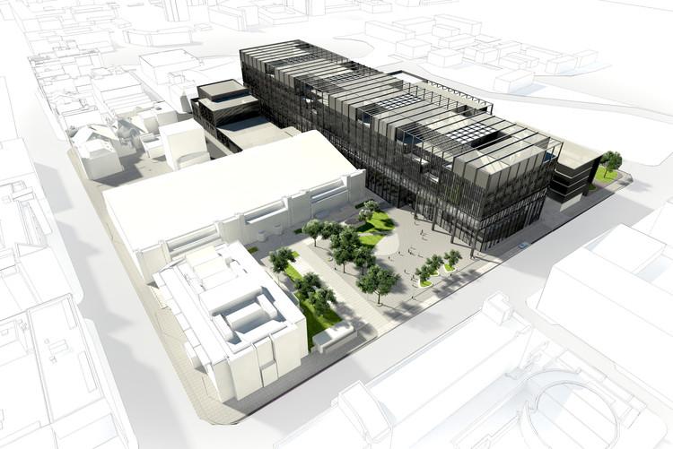 Mecanoo Designs New Engineering Campus for University of Manchester , © Mecanoo