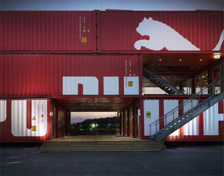 Puma city shipping container store lot ek archdaily - Contenedores maritimos usados baratos ...