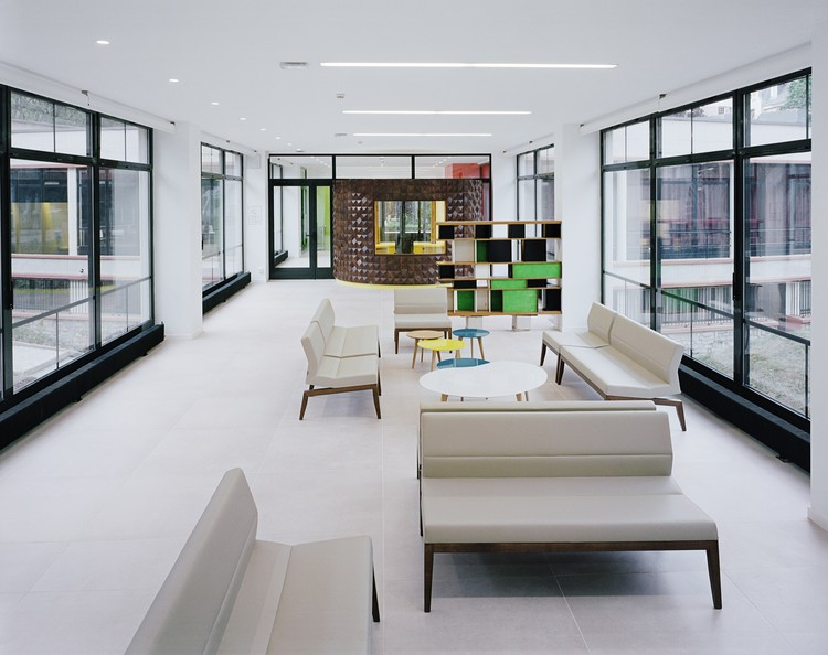 Student Residency - Maison du Mexique Rehabilitation / Atela Architectes, © Gerardo Custance