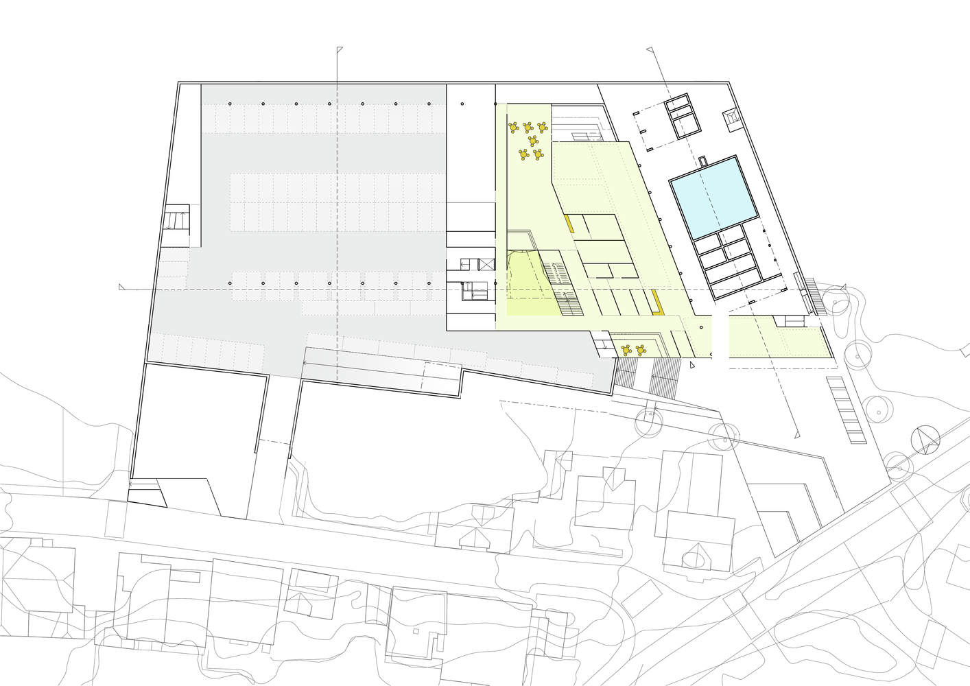 gallery of arena ulstein proposal lund slaatto amp nils tveit 16 arena ulstein proposal lund slaatto amp nils tveit plan 03
