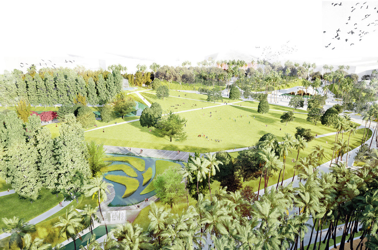 Gallery of valencia parque central proposal west 8 8 for West 8 architecture