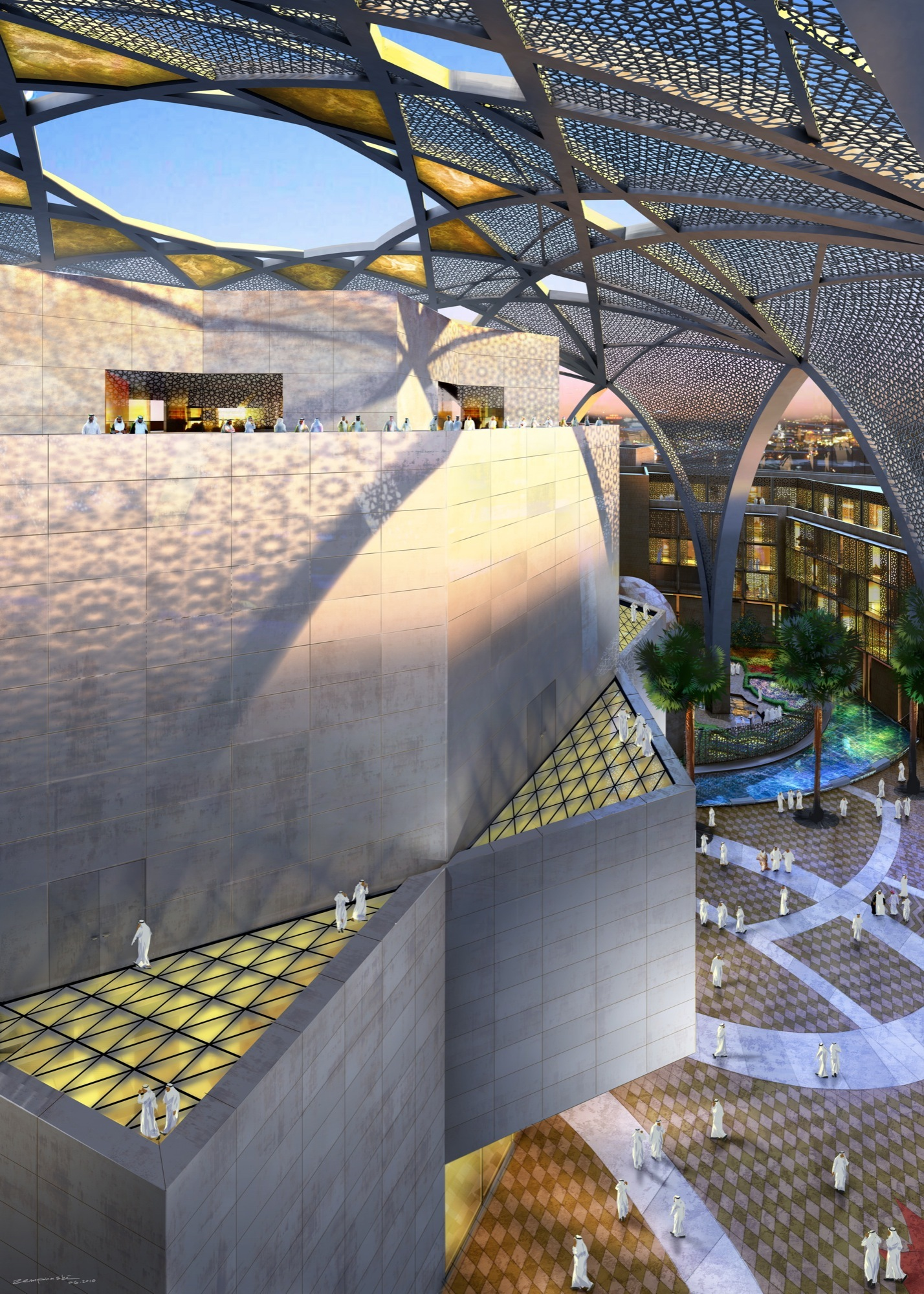 Ehrlich architects wins international design competition for Hispano international decor abu dhabi