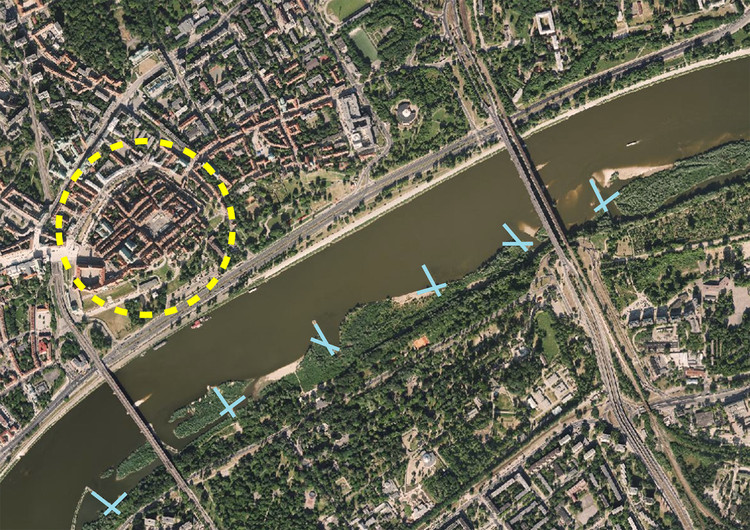 Potential Sites along Vistula River