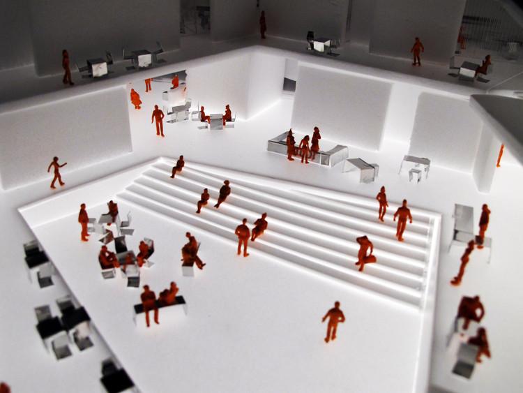 Model, interior © ADEPT Architects Sou Fujimoto