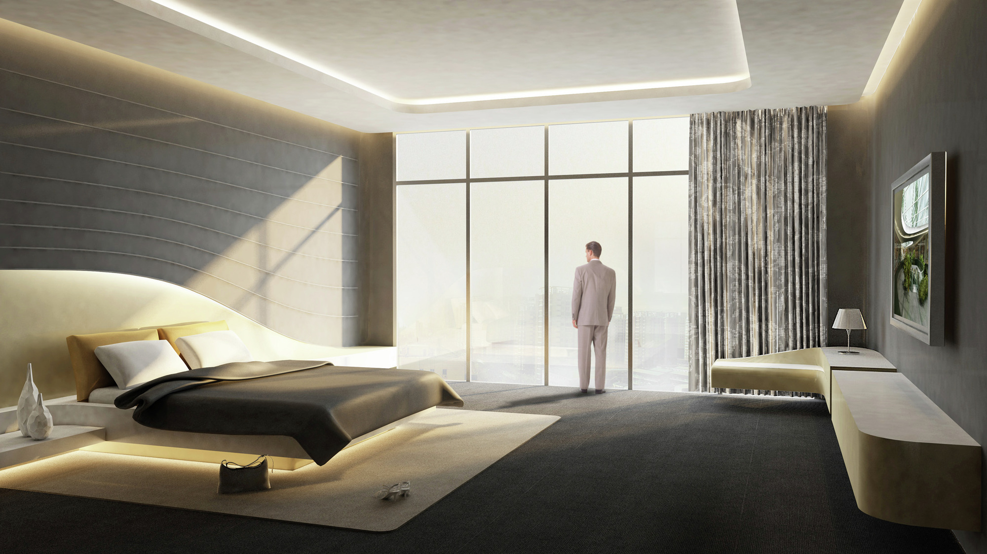 Gallery of south west hotel competition proposal henn for Design hotel f 6 genf