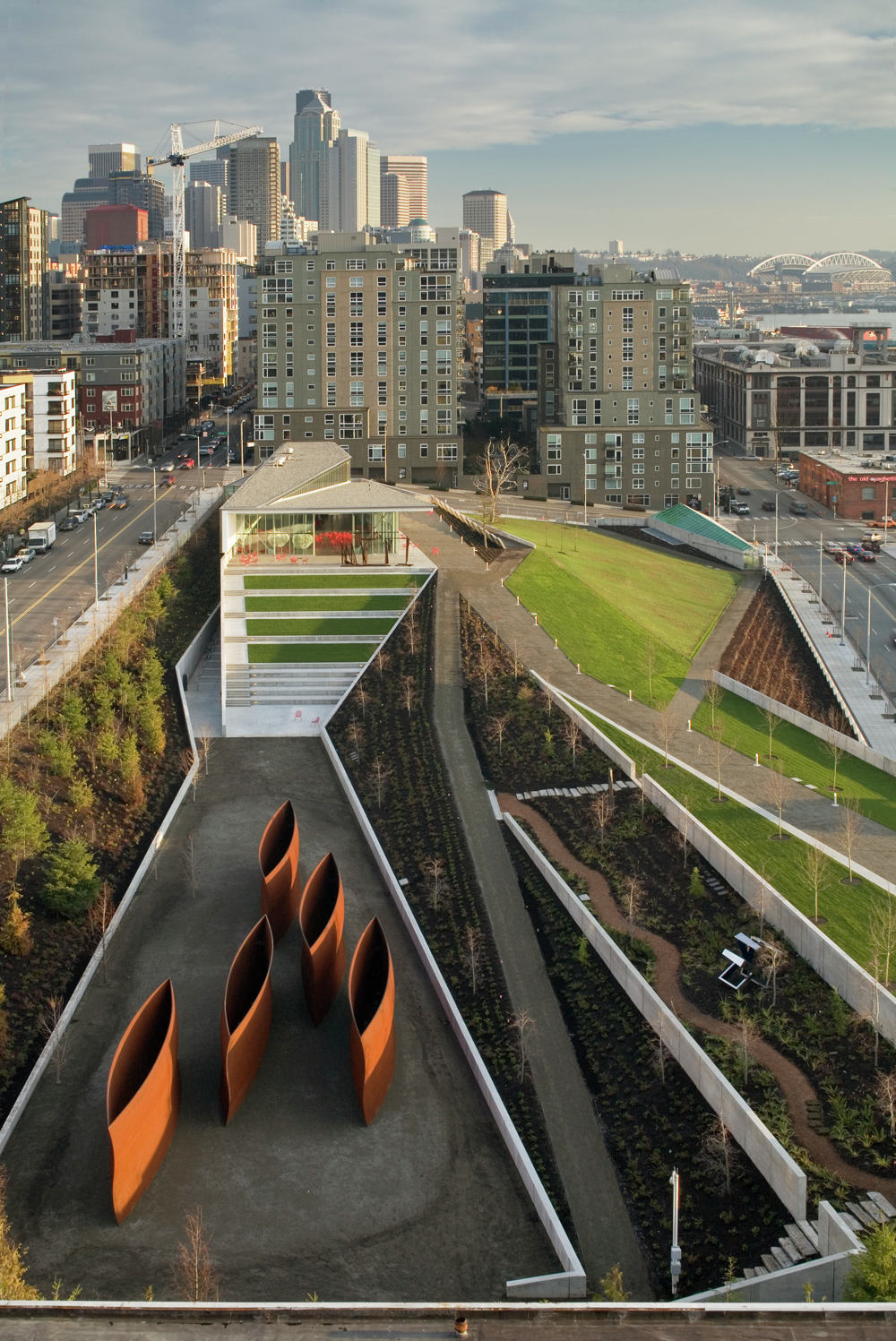 Gallery Of Olympic Sculpture Park Weiss Manfredi 4