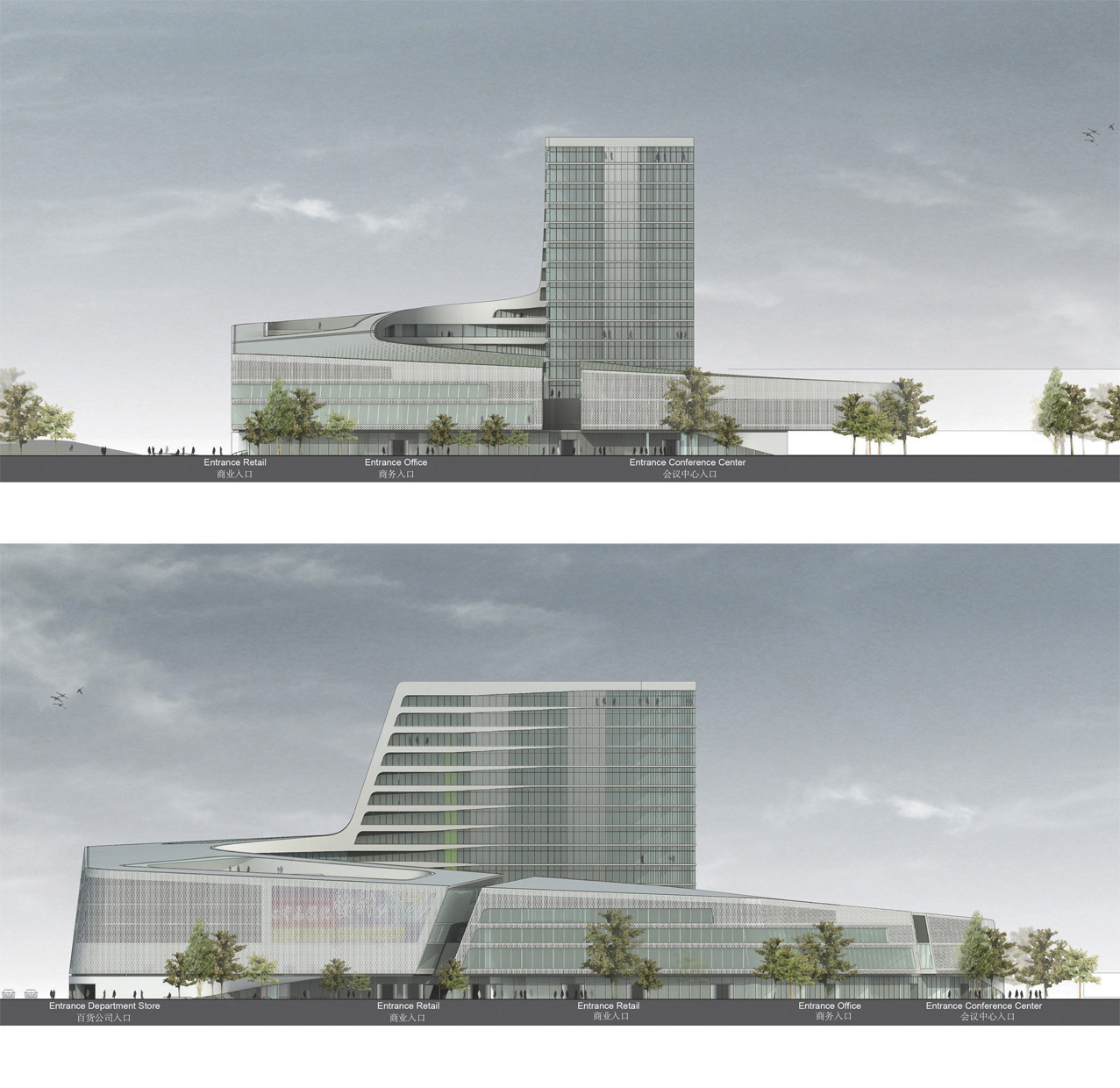 Gallery Of South West Hotel Competition Proposal Henn