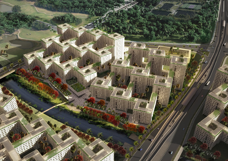 Punggol waterfront master plan housing design program - Architecte corse ...