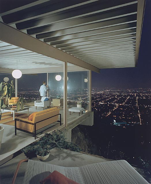 Case Study House #22, (playboy), 1960 Los Angeles, CA / Pierre Koenig, architect   © Julius Shulman