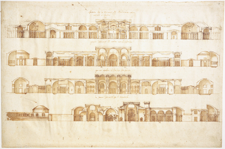 Courtesy of  London, RIBA British Architectural Library, V/2r
