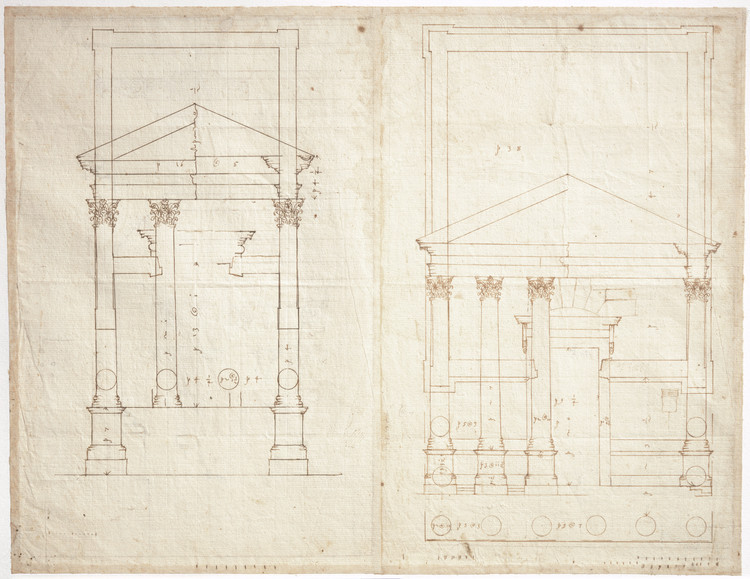 Courtesy of  London, RIBA British Architectural Library, XI/14r